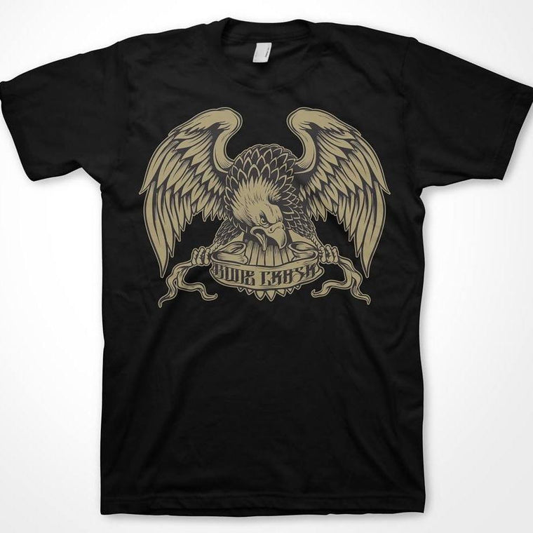 Bone Crask Gold Eagle tee