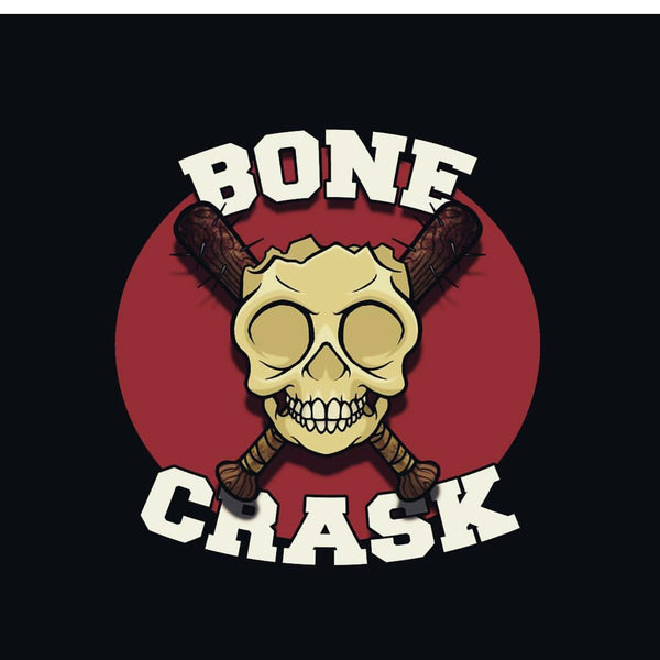 Bone Crask Broken Skull Stickers