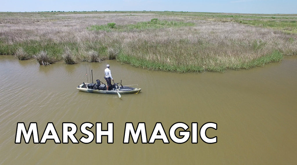 ActionHat presents: Marsh Magic - Sight Fishing for Texas Redfish