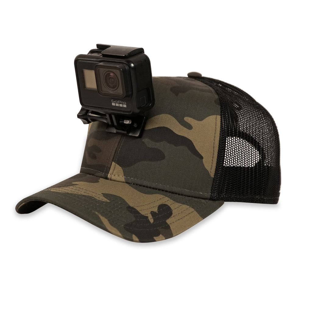 ActionHat Mesh: Camo Curve Bill