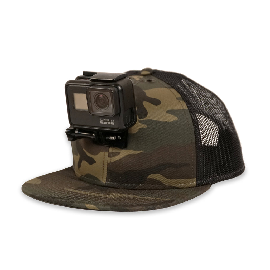 ActionHat Mesh: Camo Flat Bill