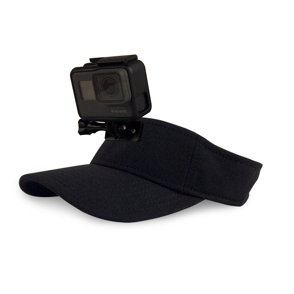 ActionHat Visor: Black - Hat Mount for GoPro
