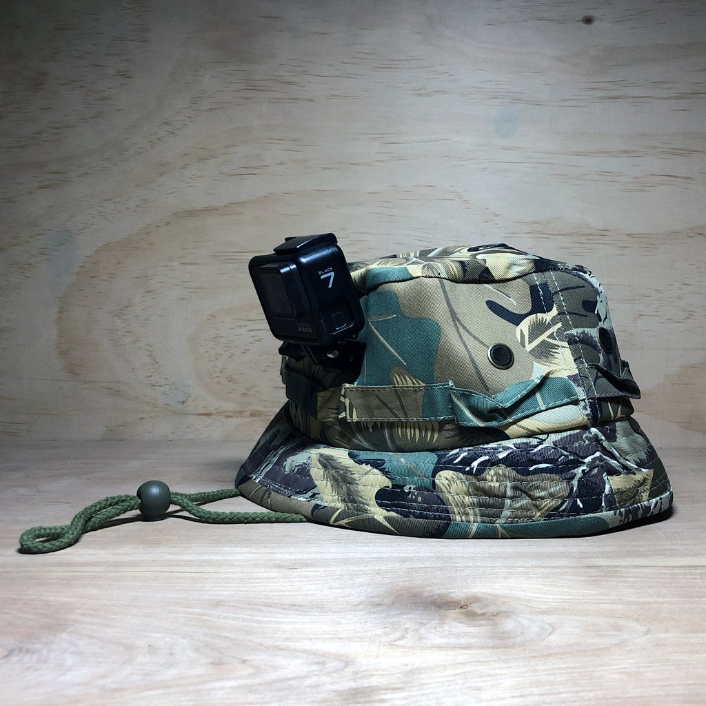 #ActionHatCustom: Camo Bucket