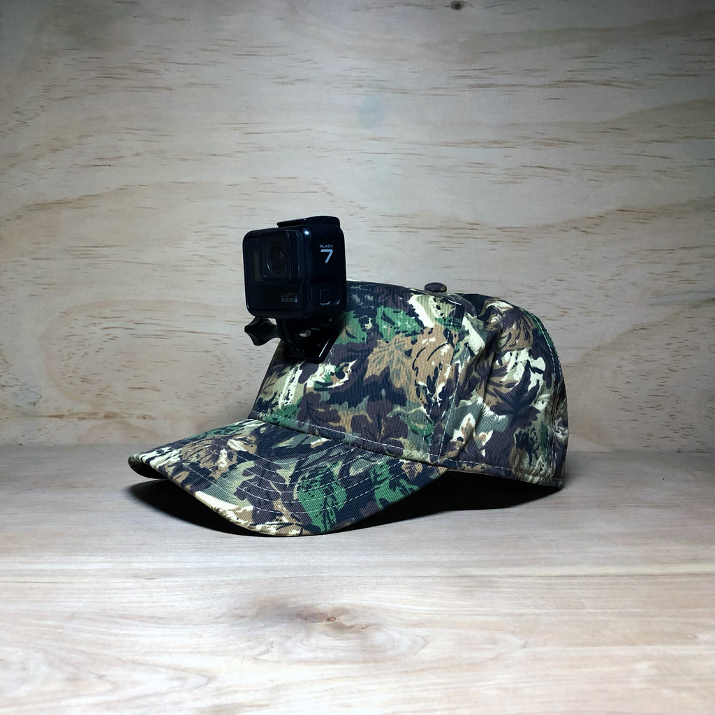 #ActionHatCustom: Camo Curved Bill