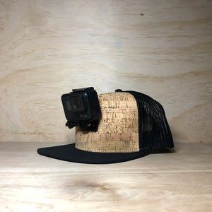 #ActionHatCustom: Cork Mesh Back Flat Bill