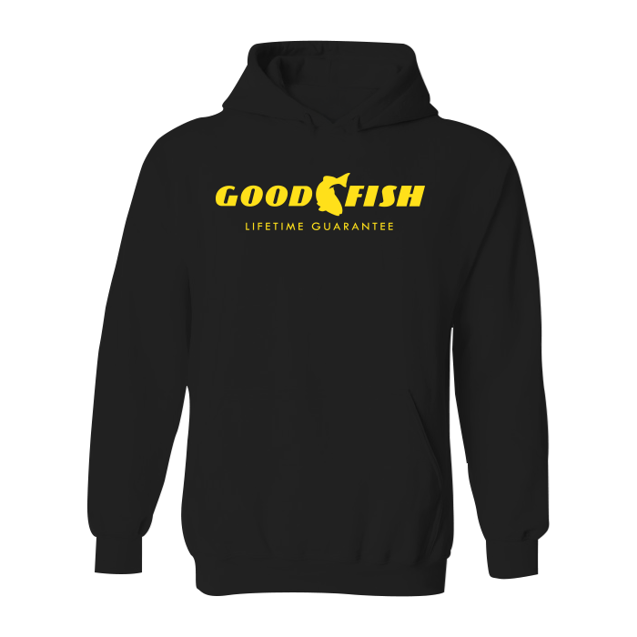 #GOODFISH YOUTH Classic Heavy Hoodie - Hat Mount for GoPro