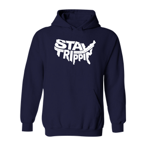 #STAYTRIPPIN USA Classic Heavy Hoodie - Hat Mount for GoPro