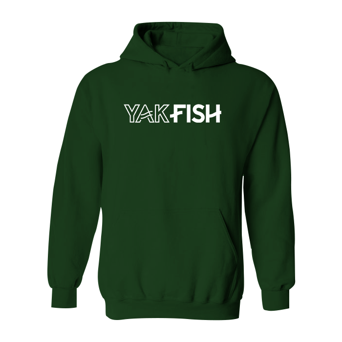 #YAKFISH Classic Heavy Hoodie - Hat Mount for GoPro