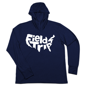 #FIELDTRIPS USA TriBlend Hoodie Shirt - Hat Mount for GoPro