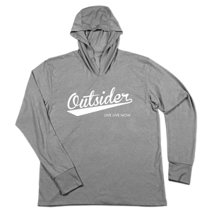 #OUTSIDER TriBlend Hoodie Shirt - Hat Mount for GoPro