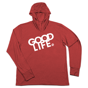 #THEGOODLIFE TriBlend Hoodie Shirt - Hat Mount for GoPro