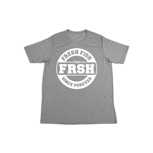 #FRESHFISH KIDS Soft Shirt - White - Hat Mount for GoPro