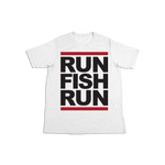 #RUNFISHRUN YOUTH Soft Shirt - Black - Hat Mount for GoPro