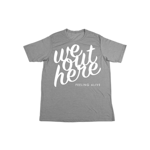 #WEOUTHERE KIDS Soft Shirt - White - Hat Mount for GoPro