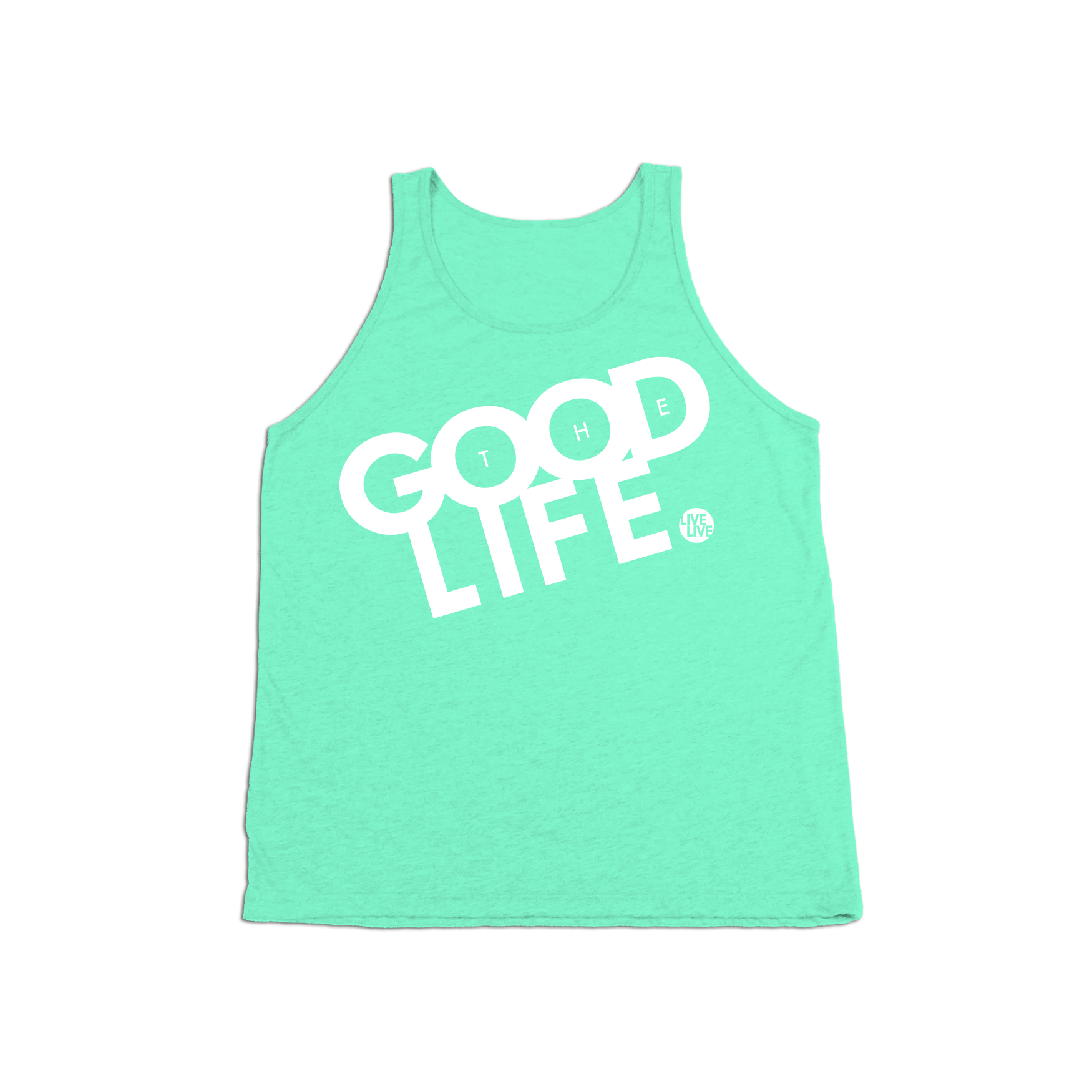 #THEGOODLIFE KIDS Tank Top - White - Hat Mount for GoPro