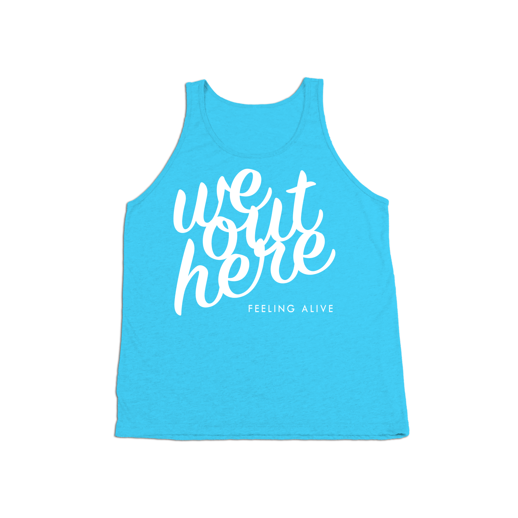 #WEOUTHERE KIDS Tank Top - White - Hat Mount for GoPro