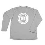 #FRESHFISH Performance Long Sleeve Shirt - White - Hat Mount for GoPro