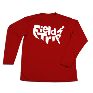 #FIELDTRIPS USA Performance Long Sleeve Shirt