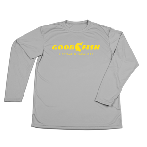 #GOODFISH YOUTH Performance Long Sleeve Shirt - Hat Mount for GoPro