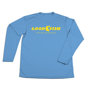 #GOODFISH Performance Long Sleeve Shirt - Hat Mount for GoPro