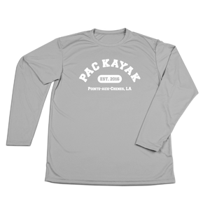 #PACKAYAK Performance Long Sleeve Shirt - White