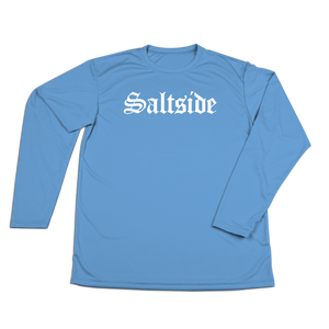#SALTSIDE Performance Long Sleeve Shirt - White - Hat Mount for GoPro