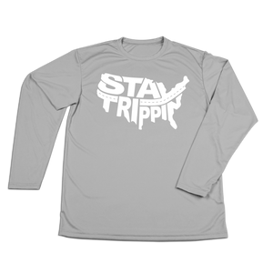 #STAYTRIPPIN USA Performance Long Sleeve Shirt - Hat Mount for GoPro