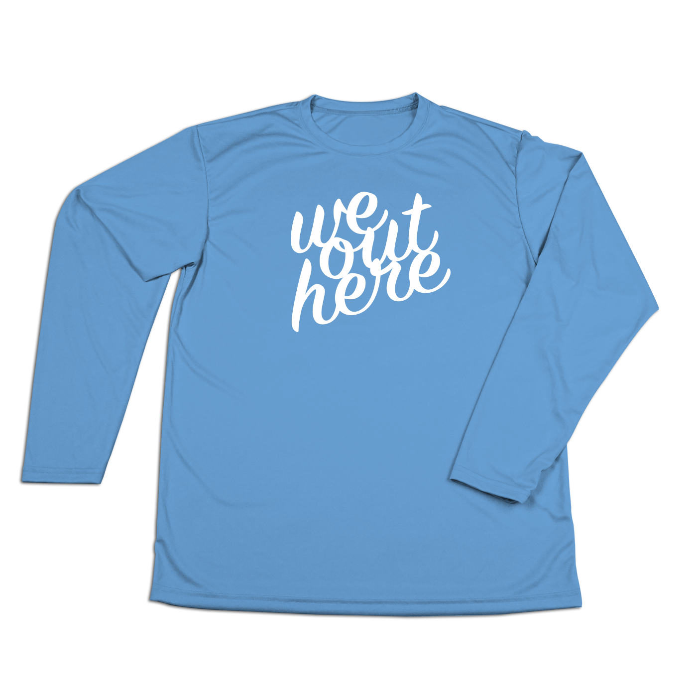 #WEOUTHERE Performance Long Sleeve Shirt - Hat Mount for GoPro