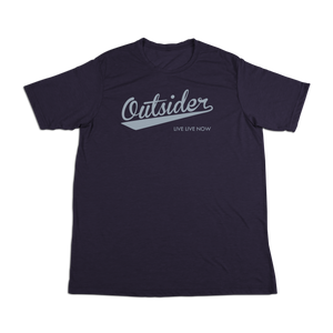 #OUTSIDER Soft Short Sleeve Shirt - Gray Print