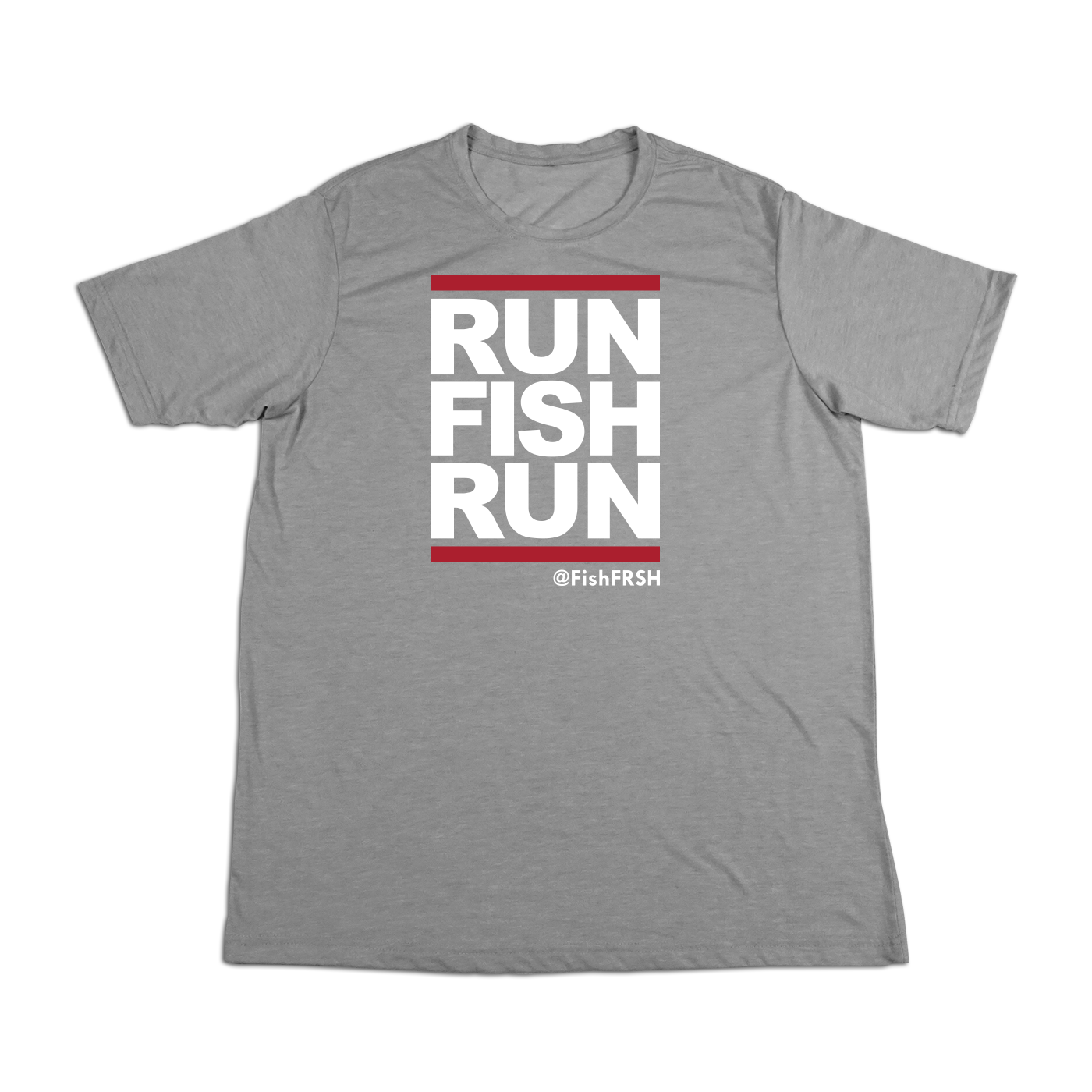 #RUNFISHRUN Soft Short Sleeve Shirt - White - Hat Mount for GoPro