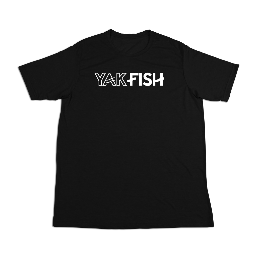 #YAKFISH Soft Short Sleeve Shirt - White - Hat Mount for GoPro