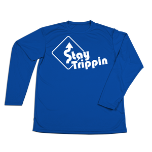 #STAYTRIPPIN Sign Performance Long Sleeve Shirt - Hat Mount for GoPro
