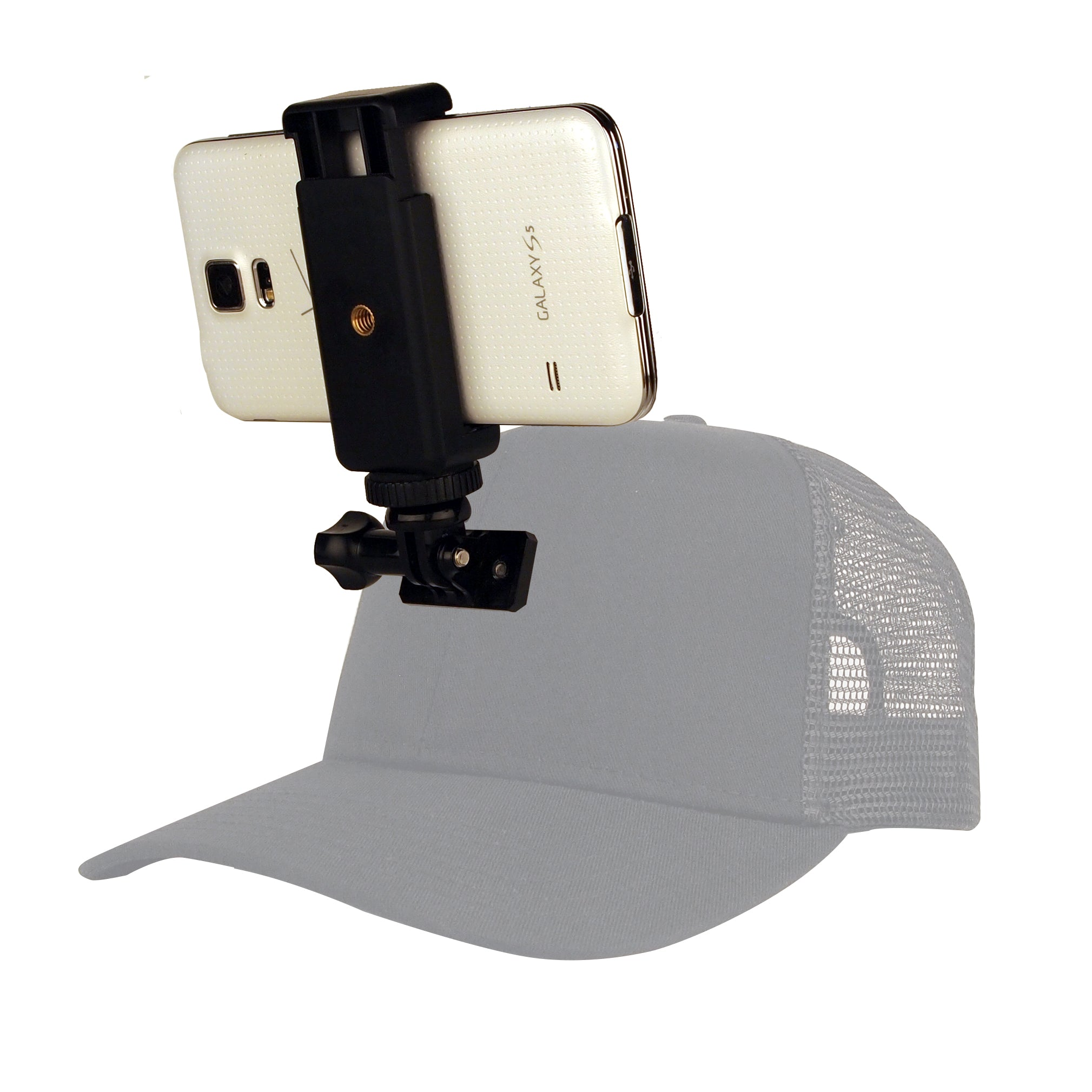 Smartphone Mounting Kit - Hat Mount for GoPro