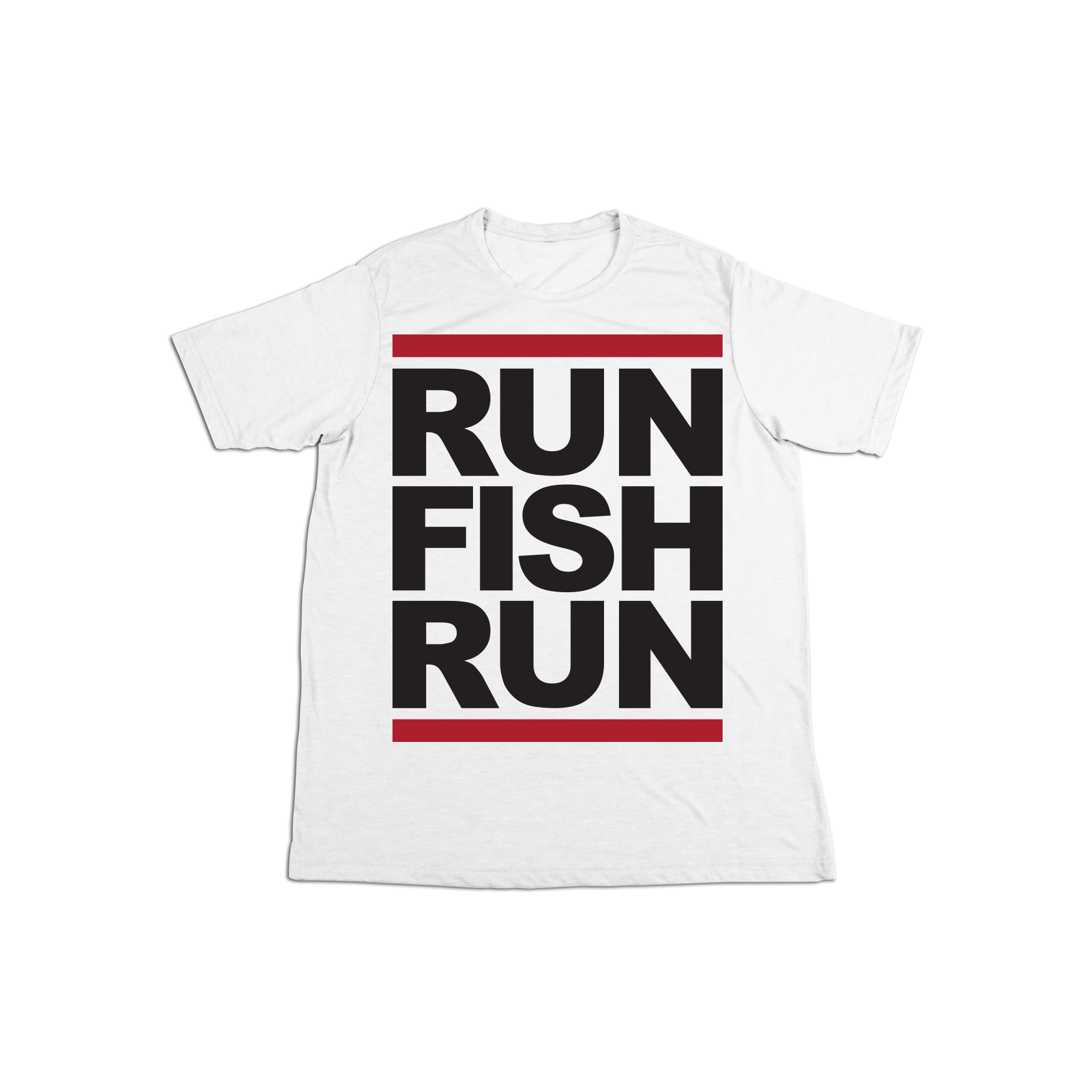 #RUNFISHRUN TODDLER Short Sleeve Shirt - Black - Hat Mount for GoPro