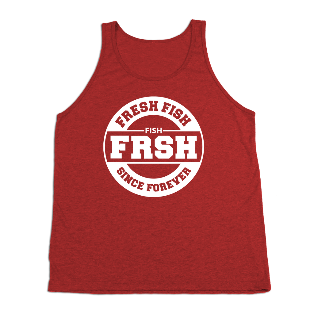 #FRESHFISH TriBlend Tank Top - White - Hat Mount for GoPro