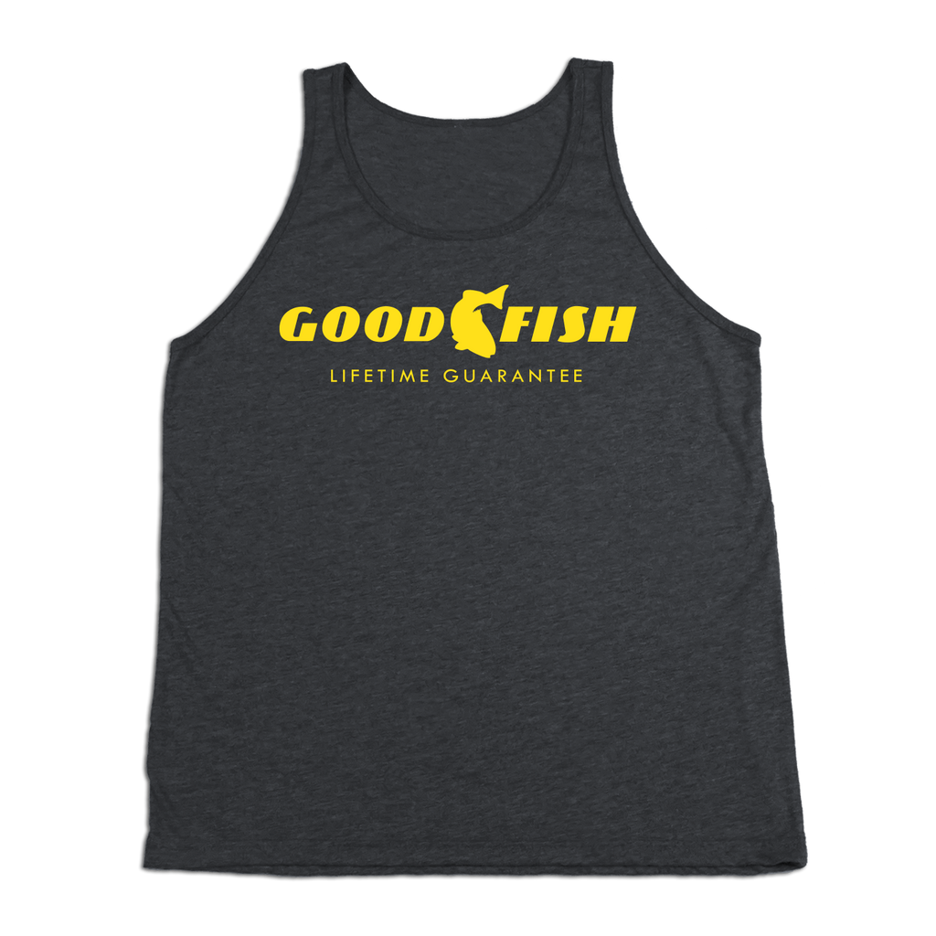 #GOODFISH TriBlend Tank Top - Yellow - Hat Mount for GoPro