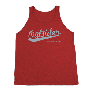 #OUTSIDER TriBlend Tank Top - Gray Print