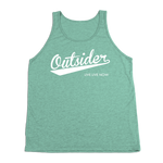 #OUTSIDER TriBlend Tank Top - White - Hat Mount for GoPro