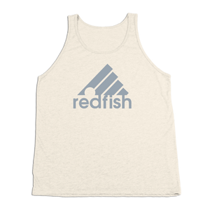 #REDFISH TriBlend Tank Top - Gray Print