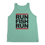 #RUNFISHRUN TriBlend Tank Top - Black - Hat Mount for GoPro