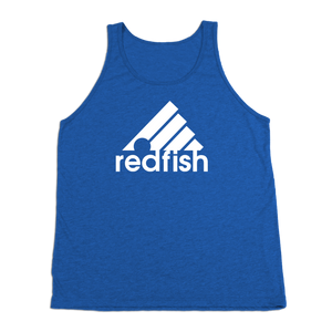 #REDFISH TriBlend Tank Top - White - Hat Mount for GoPro