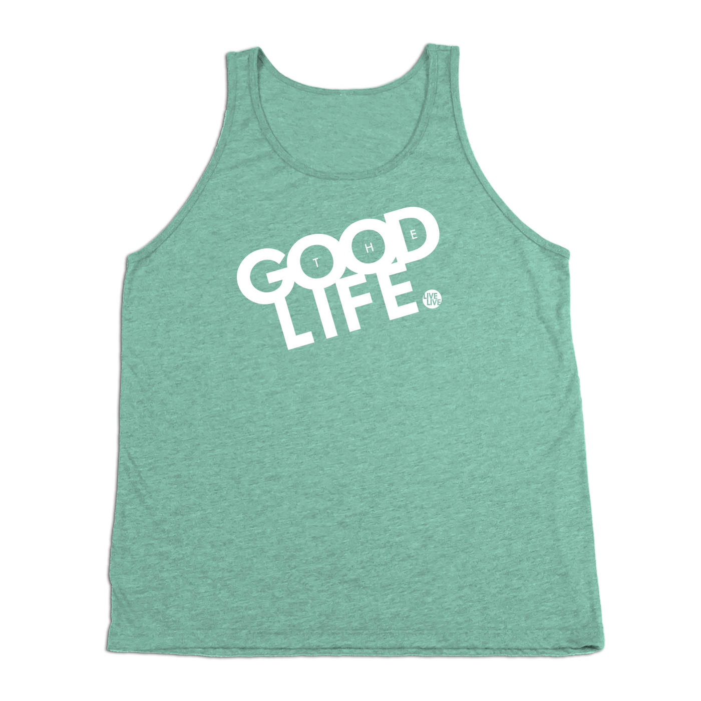 #THEGOODLIFE Tank Top - White - Hat Mount for GoPro