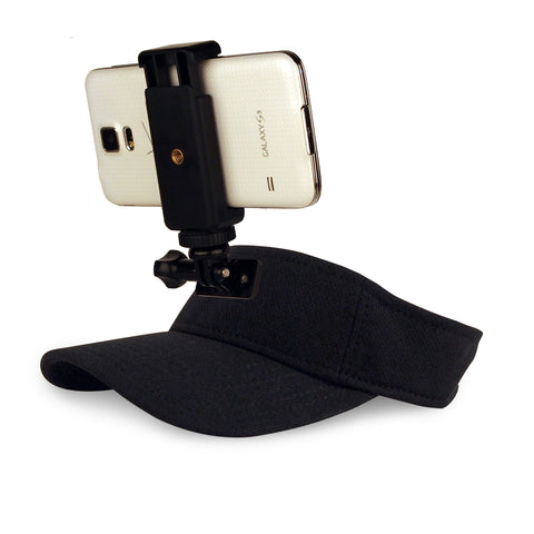 ActionHat for Phones: Black Visor