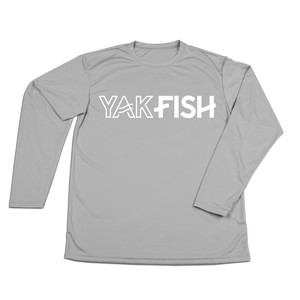 #YAKFISH CLASSIC YOUTH Performance Long Sleeve Shirt - Hat Mount for GoPro