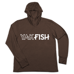 #YAKFISH TriBlend Hoodie Shirt - Hat Mount for GoPro