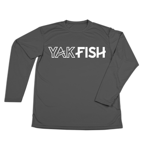 #YAKFISH Performance Long Sleeve Shirt - Hat Mount for GoPro
