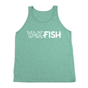 #YAKFISH Tank Top - White - Hat Mount for GoPro