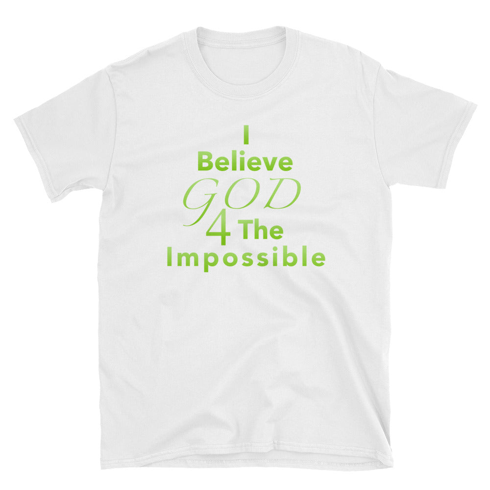 I Believe T-Shirt (Green)