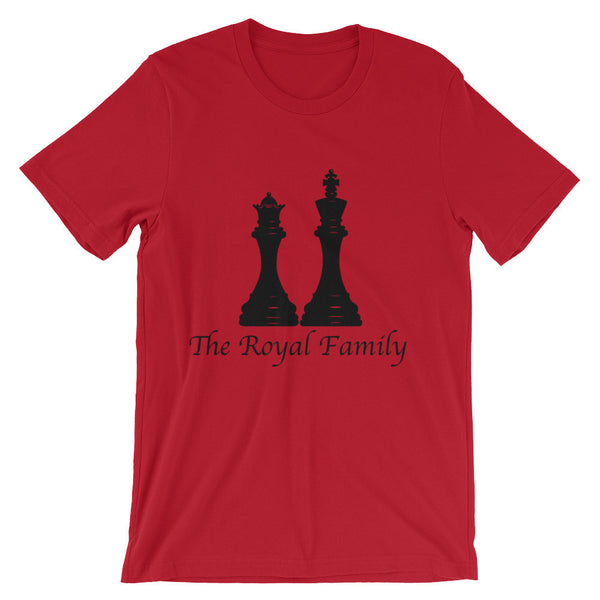 The King & Queen  sleeve t-shirt