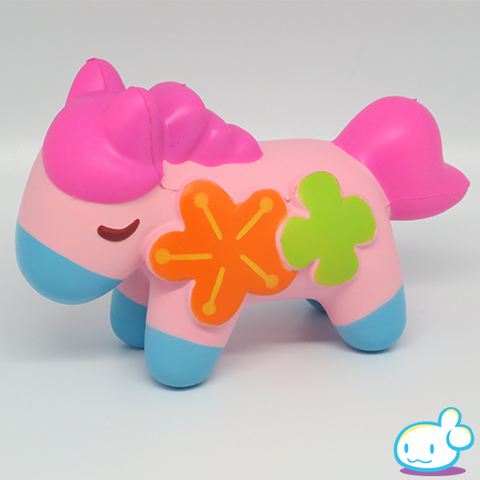 Flower Pony Squishy